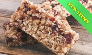 Healthy Bars, Biscuits & Muffins
