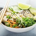 Healthy Vegan Salads with Protein
